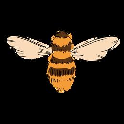 Ilustración de la abeja