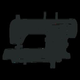 Máquina de coser negro