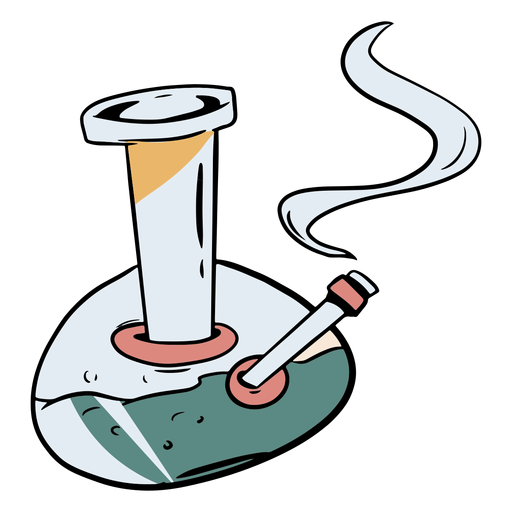 Ilustración de bong