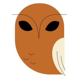 Brown fish owl flat