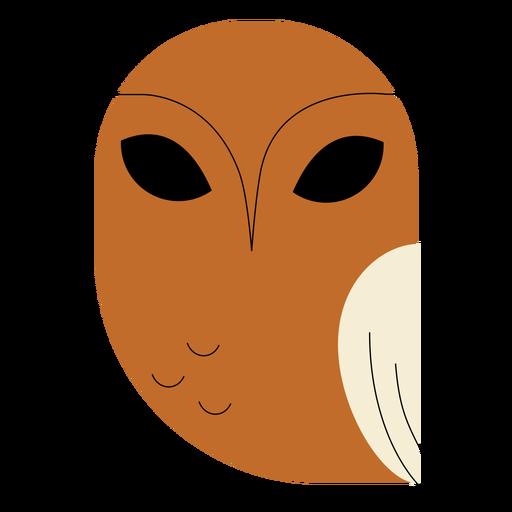 Brown fish owl flat Transparent PNG