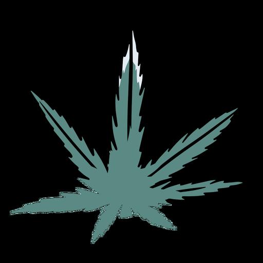 Ilustración de cannabis