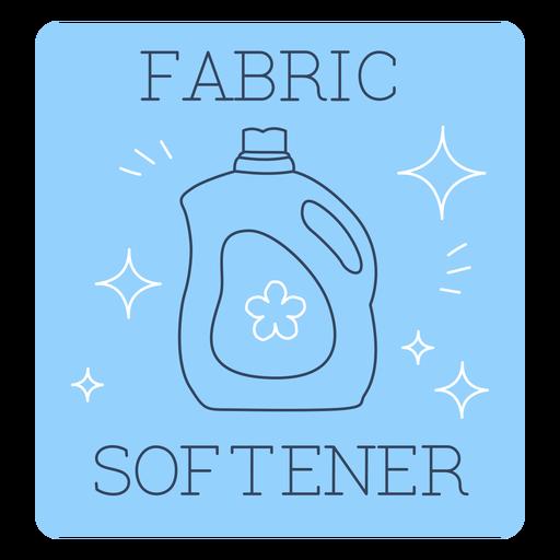 Fabric softener label line