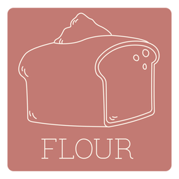 Flour label line