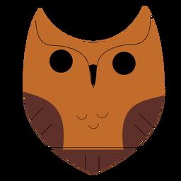 Great horned owl flat
