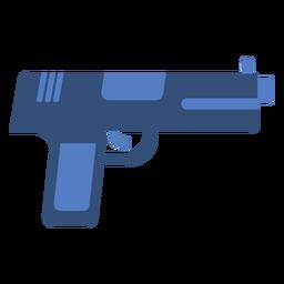 Pistola plana