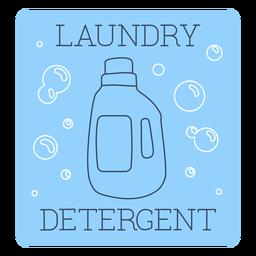 Laundry detergent label line