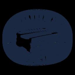 Laundry soap label blue