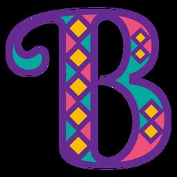 Buchstabe b Karneval