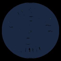 Etiqueta de objetos perdidos azul