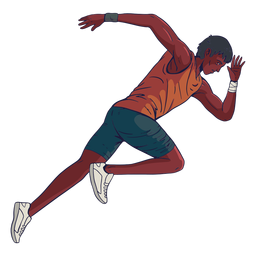 Carácter de atleta masculino
