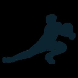 Jogador de voleibol masculino silhueta jogador de voleibol