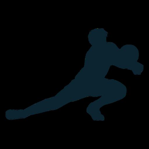 Jogador de vôlei masculino silhueta jogador de vôlei