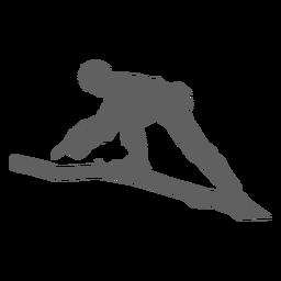 Hombre cortando rama motosierra silueta