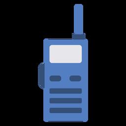 Police radio flat