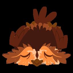 Relaja la ilustración del búho