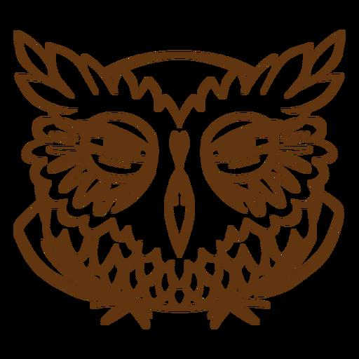 Very suspicious owl stroke