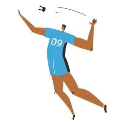 Volleyball player character