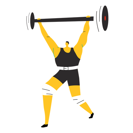 Weightlifter character