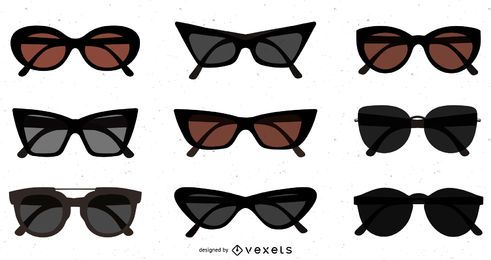 Flat Dark Sunglasses Pack