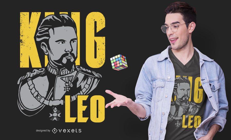 King Ludwig II of Bavaria T-shirt Design