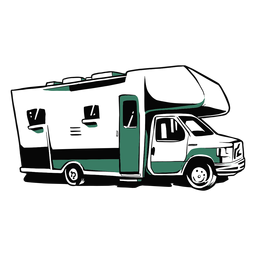 Rv trailer illustration