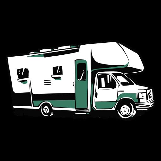 Rv trailer illustration