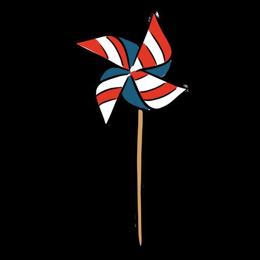 Molinillo de viento americano