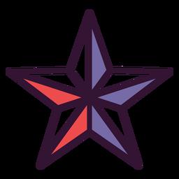 Ícone estrela americana