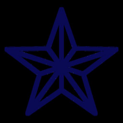 Golpe de estrella estadounidense Transparent PNG