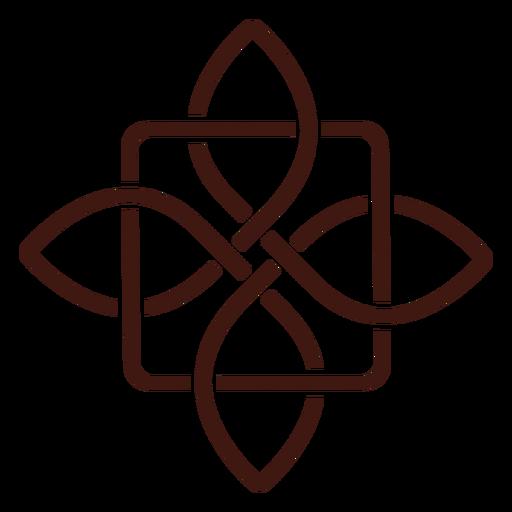 Ancient celtic knot