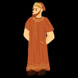 Arab man taqiyah character
