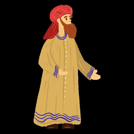Arab man traditional character