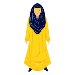 Arab woman character