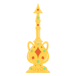 Louça de objeto árabe