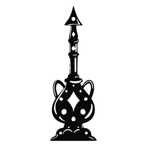 Arabic object crockery black Transparent PNG