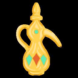 Objeto árabe dallah