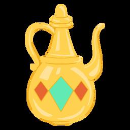 Jarra de objetos árabes