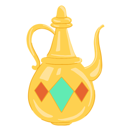 Jarro de objeto árabe