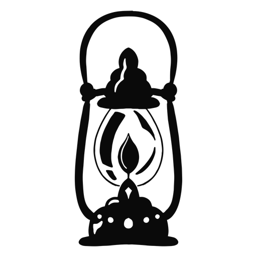 Arabic object lantern black Transparent PNG