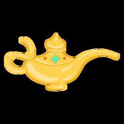 Lámpara de aceite objeto árabe