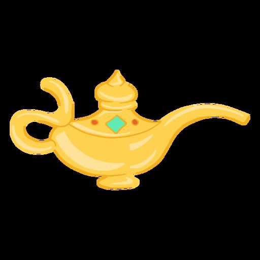 Arabic object oil lamp Transparent PNG