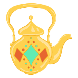 Arabic object teapot
