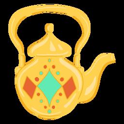 Tetera objeto árabe