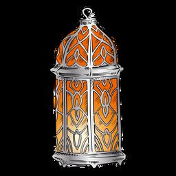 Arabisches Laternenillustrationsdesign