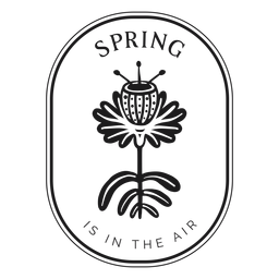 Badge spring is in the air