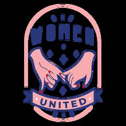 Insignia mujeres unidas