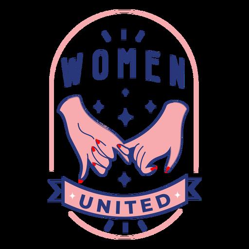 Badge women united