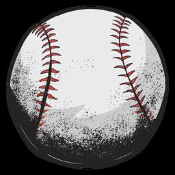 Ilustração de beisebol