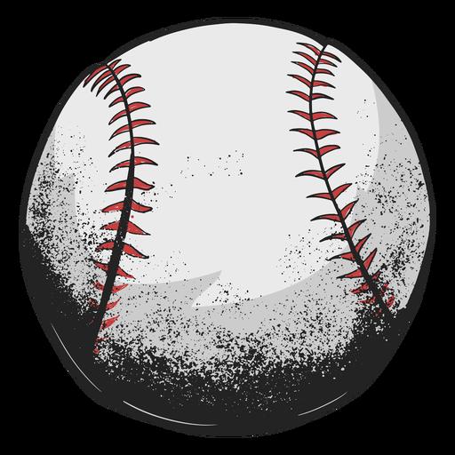 Ilustración de béisbol Transparent PNG